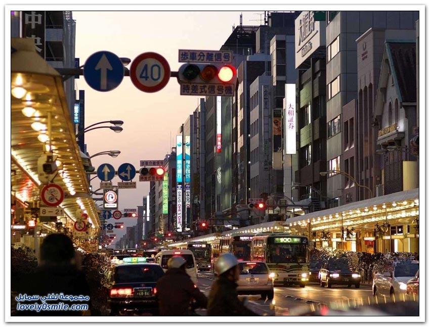 جولة في مدينة كيوتو اليابانية