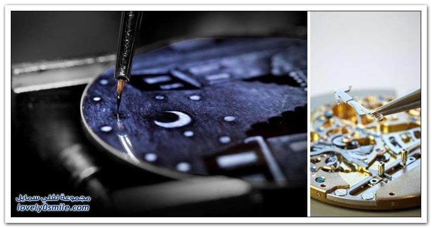 تشكيلة من الساعات الحداثة