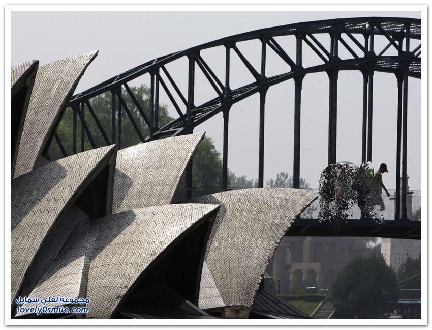 معالم سياحية عالمية تستنسخها الصين