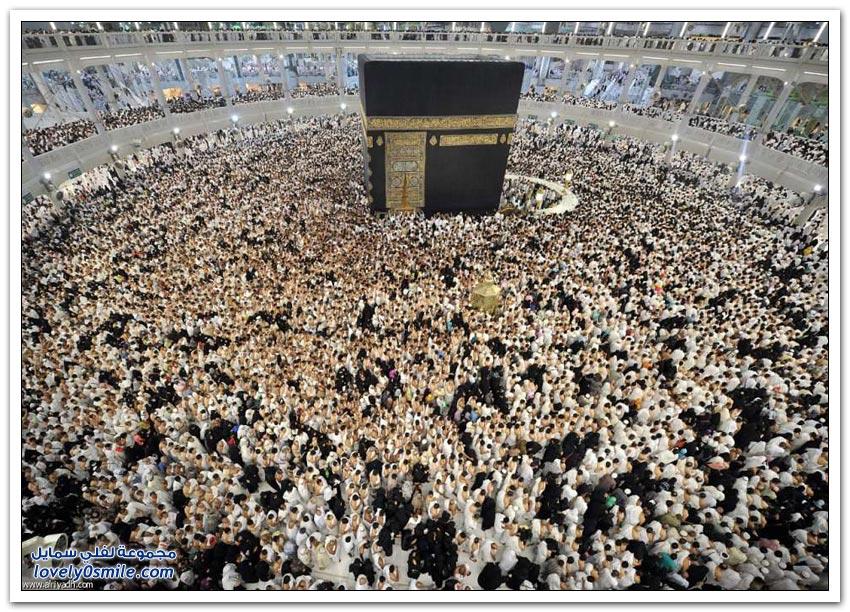 الحرم المكي ليلة السابع والعشرين من رمضان لعام 1436 هـ