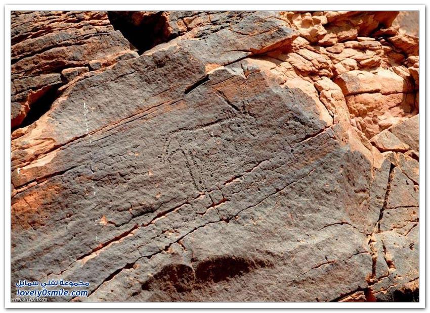 الرسوم الصخرية في حائل