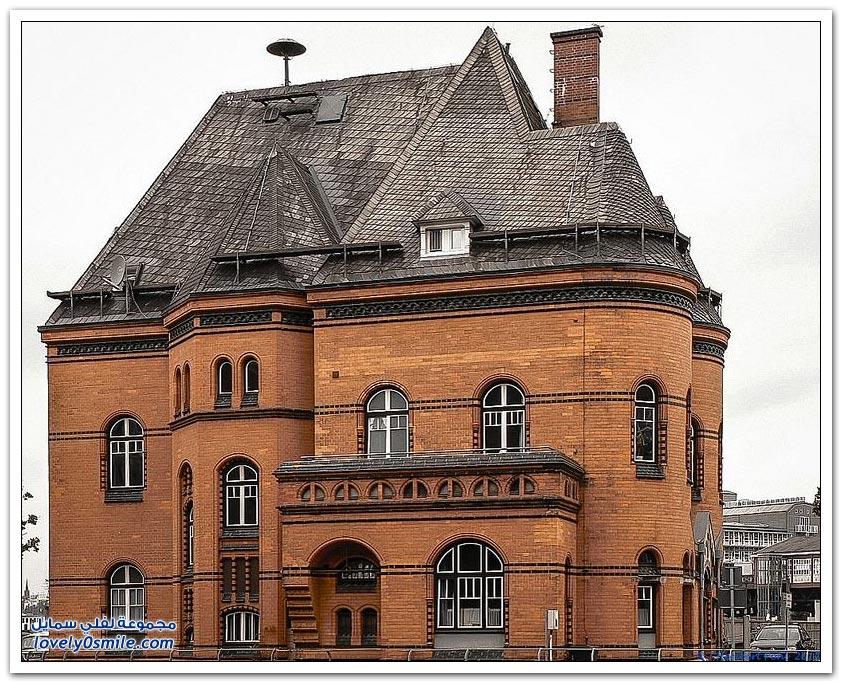 مدينة التخزين ومنطقة المستودعات في هامبورغ