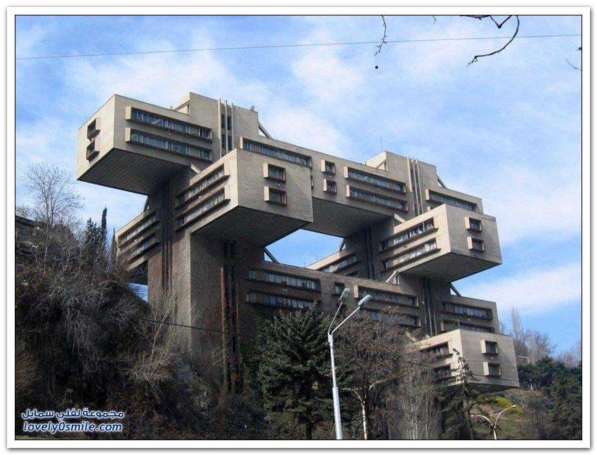 أغرب المباني أيام الحقبة السوفيتية