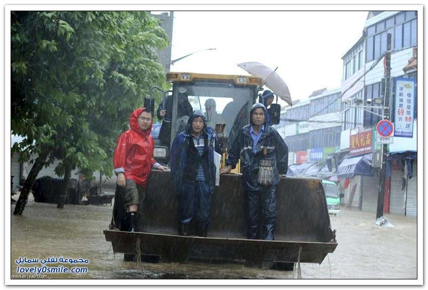 إعصار تشان-هوم في الصين