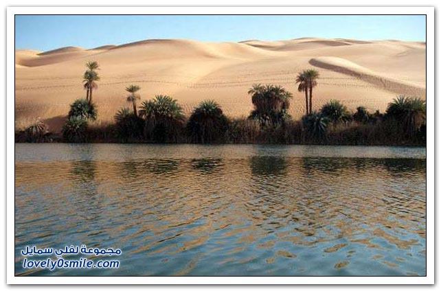 واحات أوباري لوحات رائعة بالصحراء الليبية