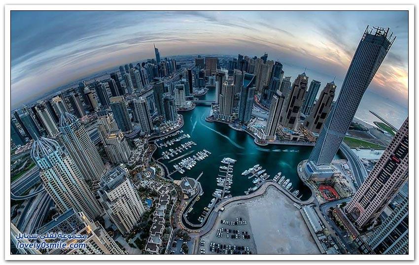التطور والنهضة العمرانية في دبي في أقل من 30 عام