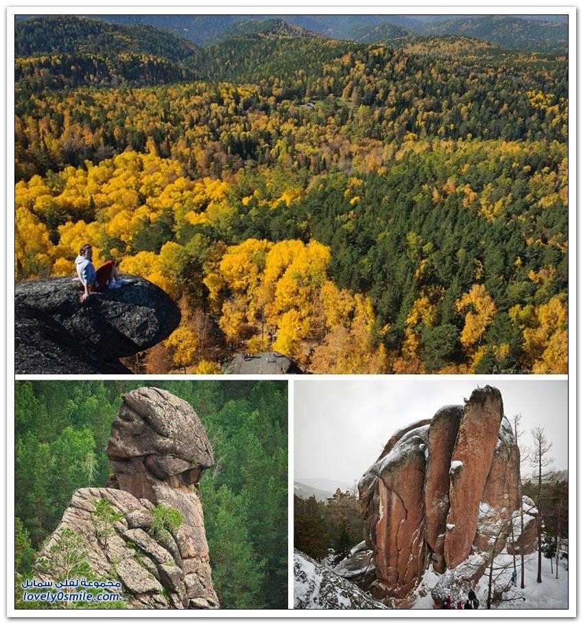 مناظر الطبيعة في روسيا