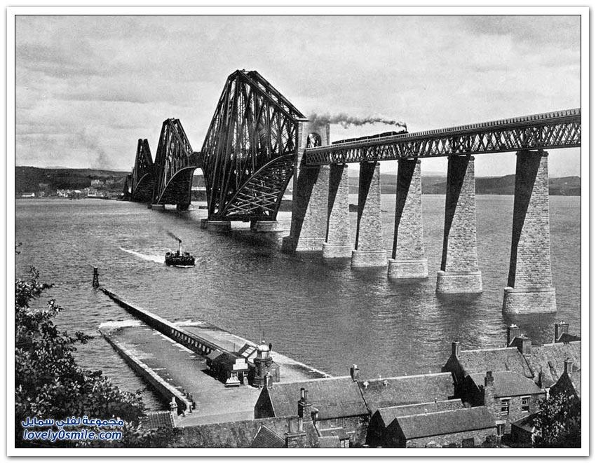 جسر السكك الحديد في اسكتلندا يدخل قائمة التراث العالمي