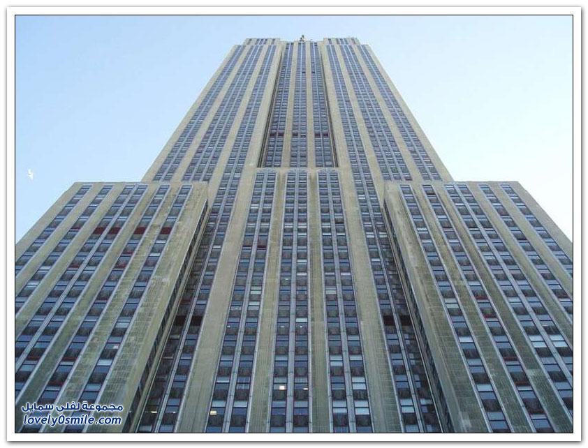 صور نادرة لناطحة السحاب مبنى إمباير ستيت في نيويورك