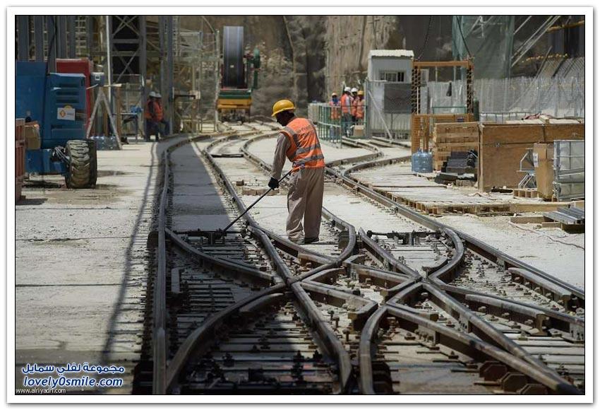 أنفاق مترو الرياض