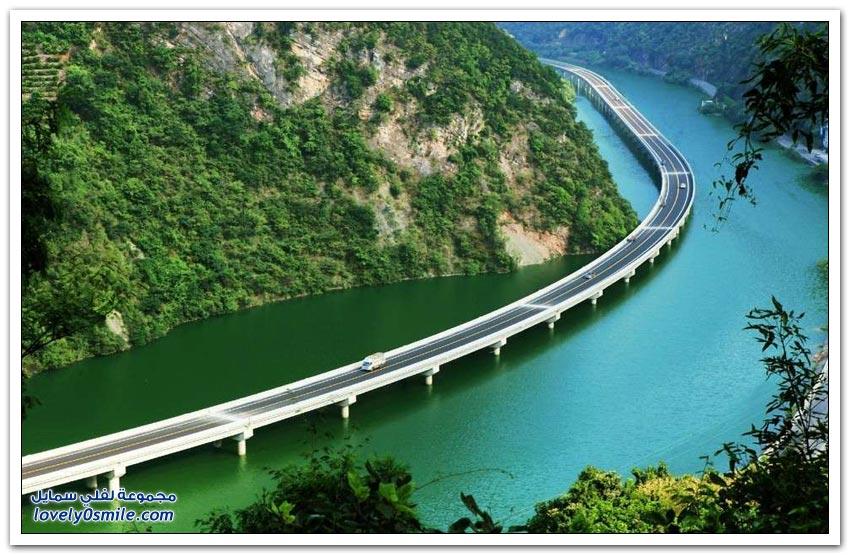 تشغيل أول جسر صديق للبيئة في الصين