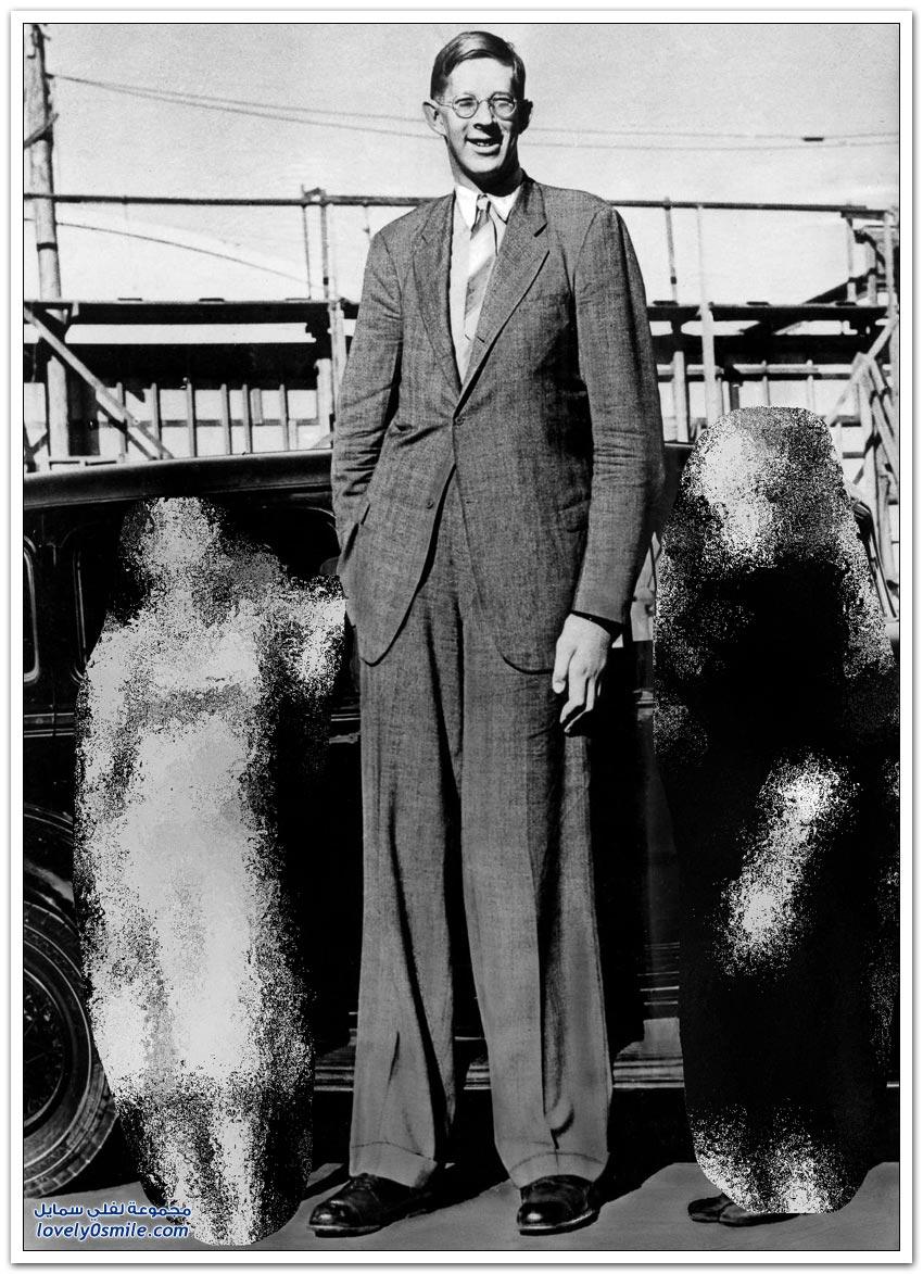 أطول رجل في التاريخ