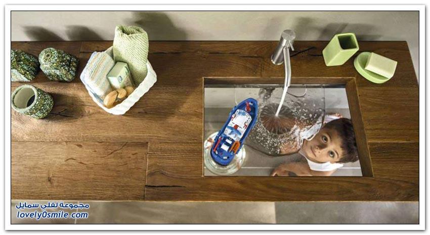 الأناقة والجمال في أحواض غسل اليدين