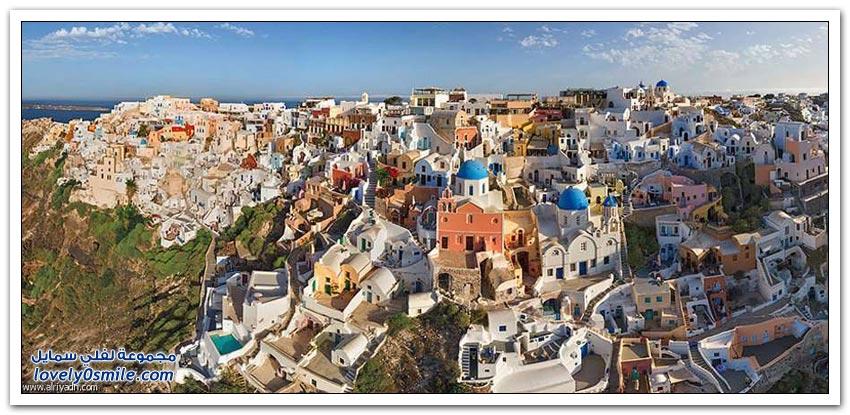 أجمل مدن العالم من الأعلى كما تراها الطيور