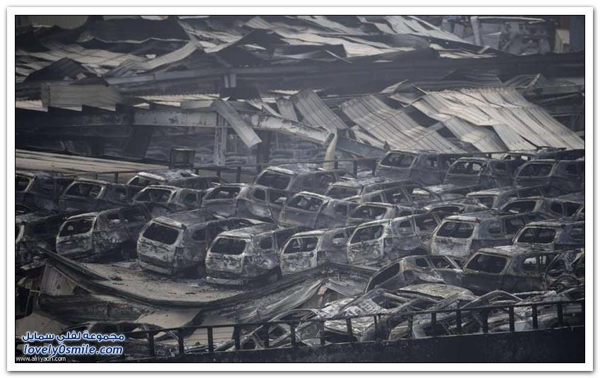 انفجار تيانجين