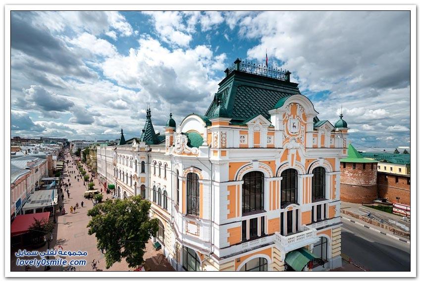 جولة على مدينة نيجني نوفغورود