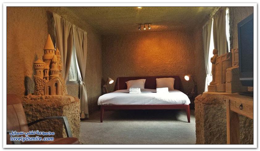 فنادق مذهلة من الرمال في هولندا