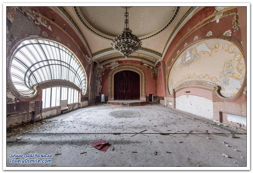 كازينو مهجور كان يوما المبنى الأكثر روعة في رومانيا