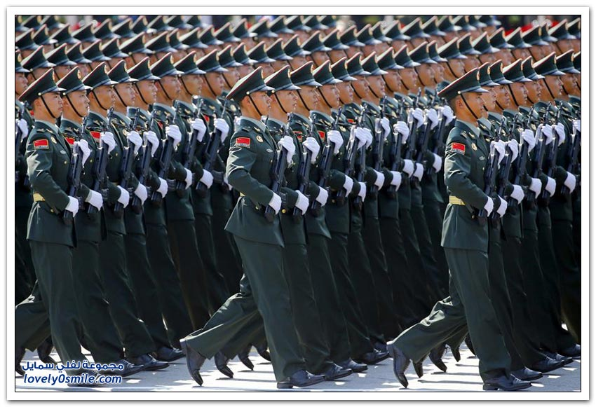 عرض عسكري صيني ضخم لإحياء ذكرى نهاية الحرب العالمية الثانية