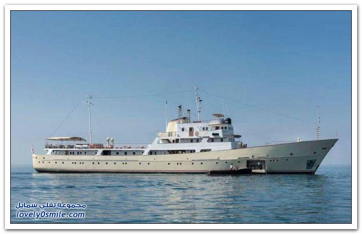 تحويل سفينة تجسس من الحرب الباردة إلى يخت فاخر