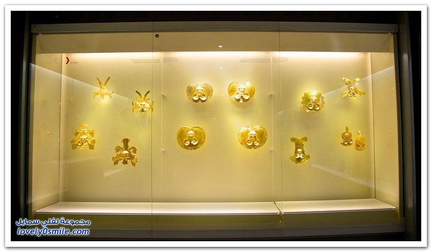 متحف الذهب في بوغوتا بكولومبيا