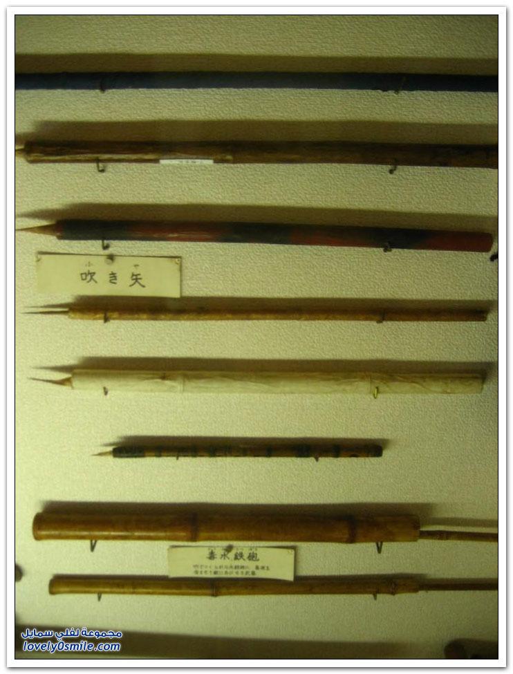 الأسلحة الفتاكة من ترسانة النينجا