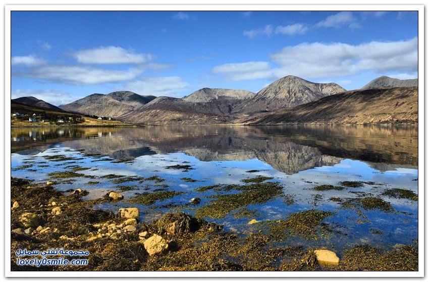 سحر الطبيعة في اسكتلندا في أوقات مختلفة من السنة