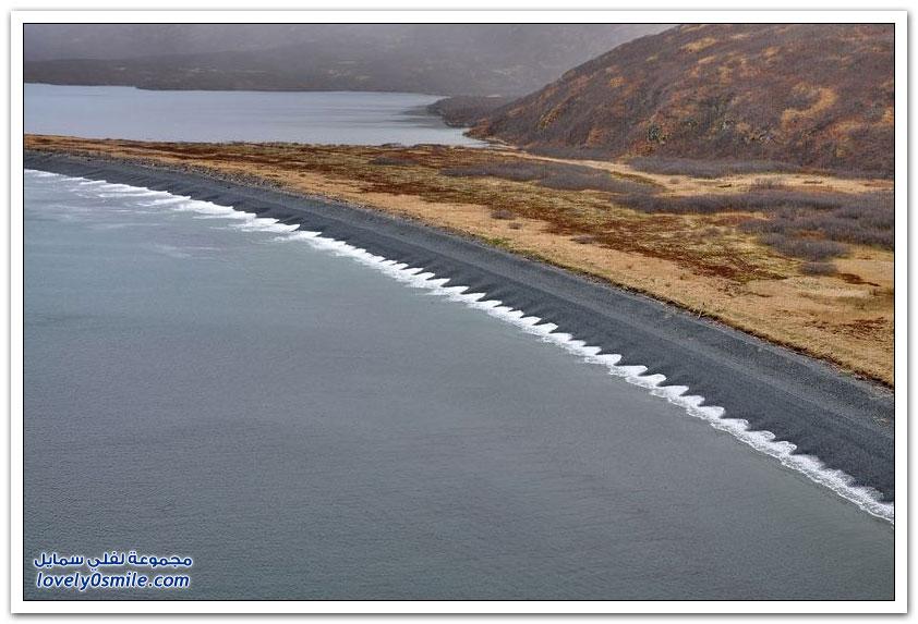 الشريط الساحلي الرائع لألاسكا