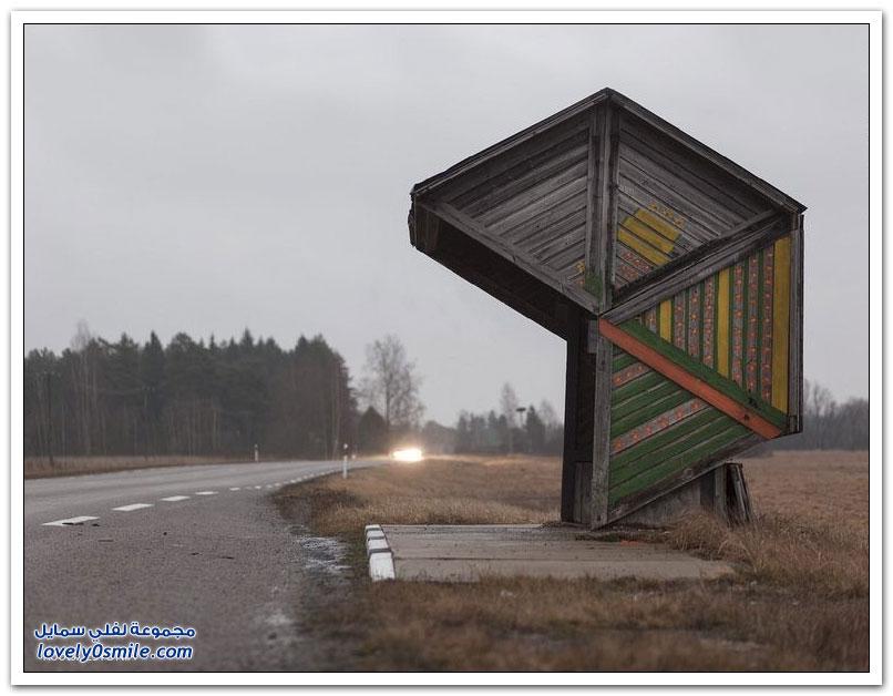 محطات حافلات غريبة في الاتحاد السوفيتي سابقا