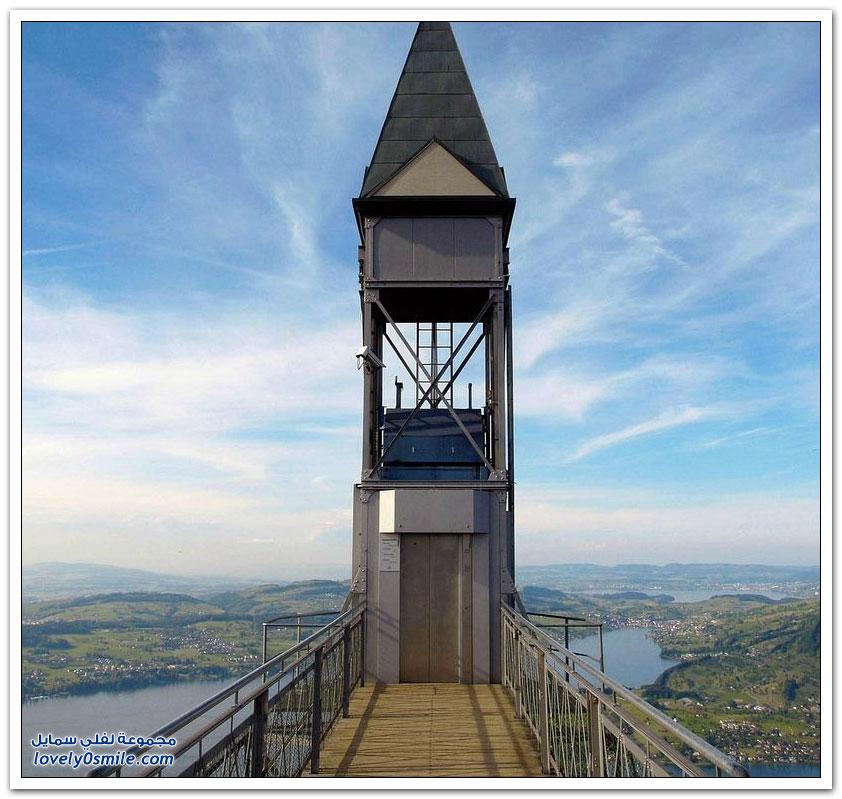أطول مصعد على الهواء الطلق في أوروبا