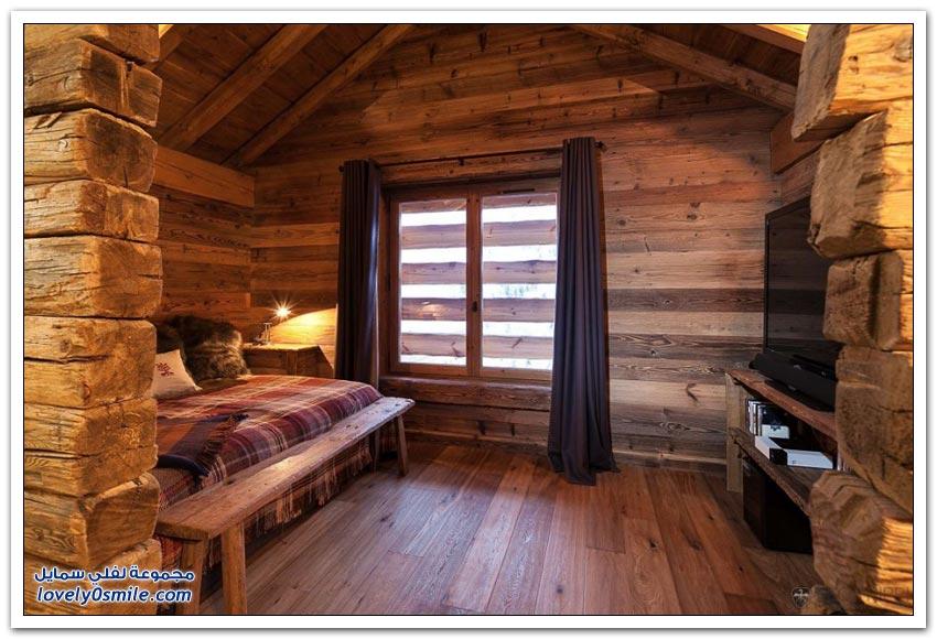 فندق في منطقة التزلج الأكثر جمالاً في العالم في ميريبل بفرنسا