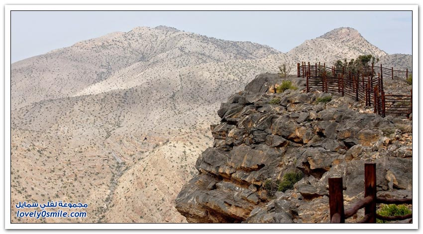 منتجع أليلا الجبل الأخضر في سلطنة عُمان