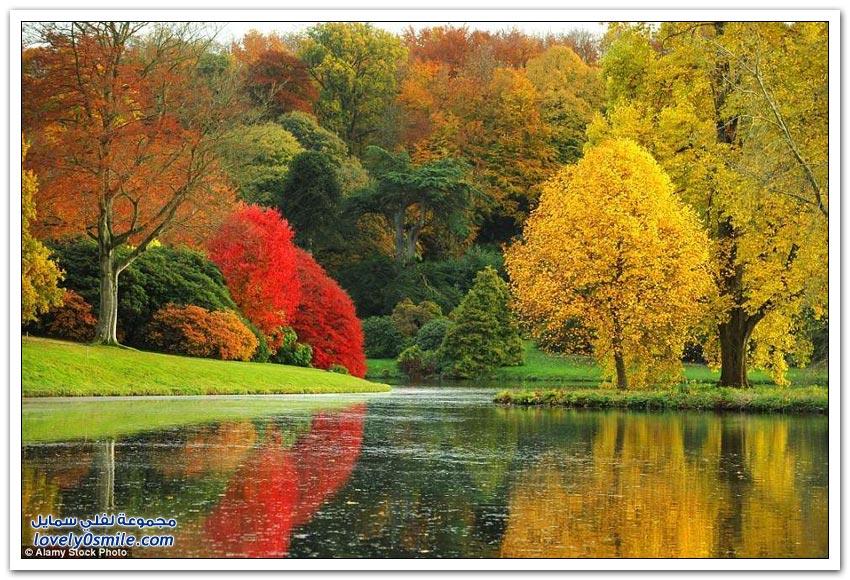 صور الخريف في المملكة المتحدة