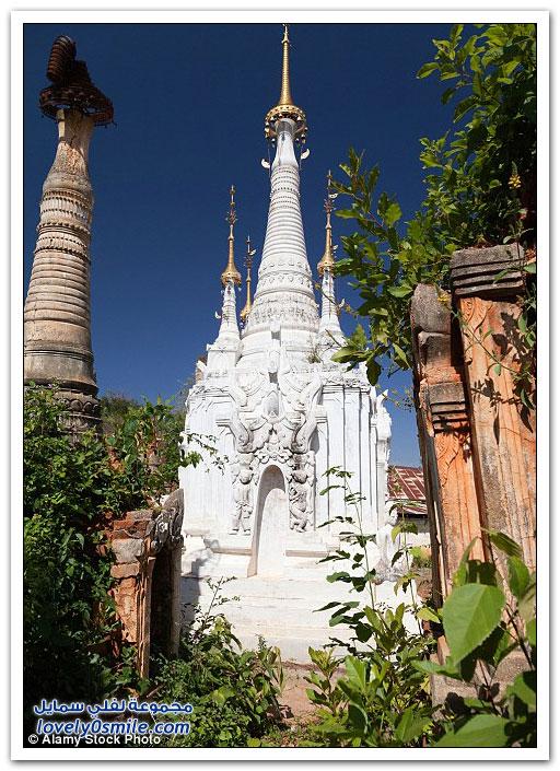المعابد المتهالكة في قلب ميانمار تتحول إلى عجائب ساحرة