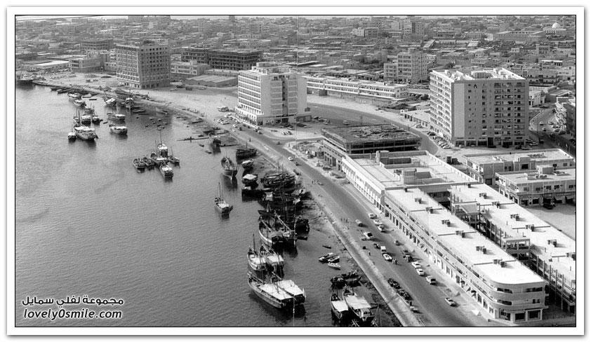 دبي كيف كانت قبل أكثر من خمسين عام