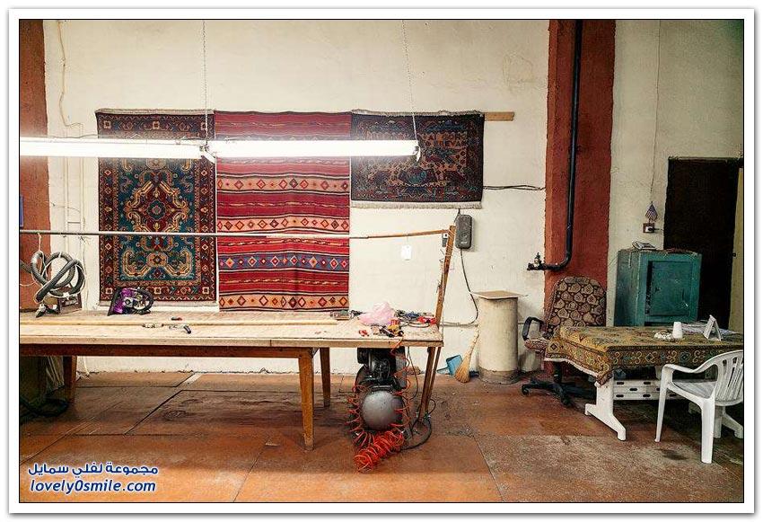 مصنع سجاد يدوي في أرمينيا