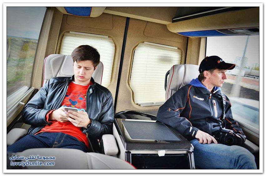 ميني باص مريح وكأنك في طائرة