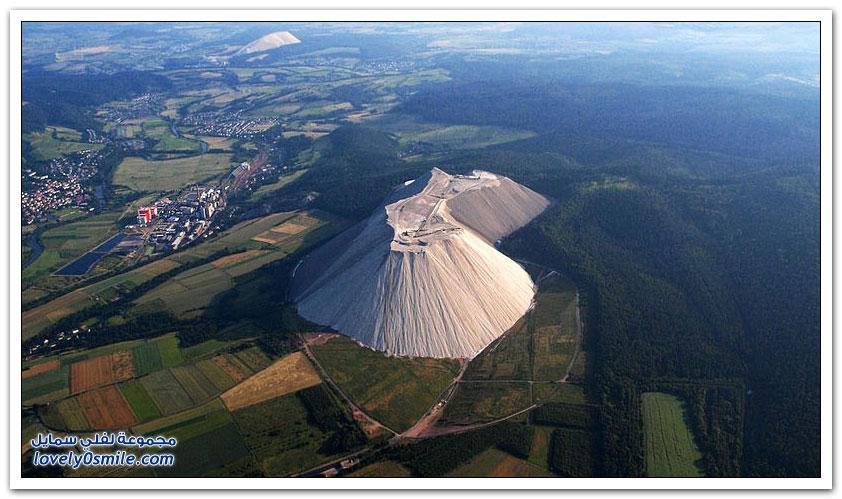 مونتي كالي أكبر جبل من الملح في العالم