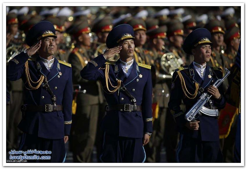 كوريا الشمالية تستعرض قدراتها العسكرية