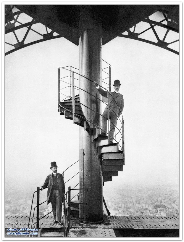 صور نادرة لبناء برج إيفل