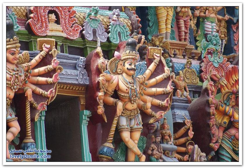 معبد ميناكشي في مادوراي بالهند