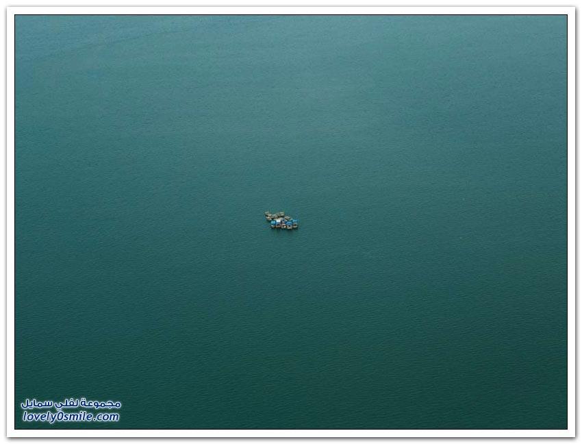 جمال خليج هالونج من الطائرة