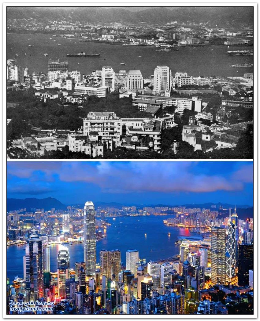 التطور العمراني بين الماضي والحاضر في بعض دول العالم