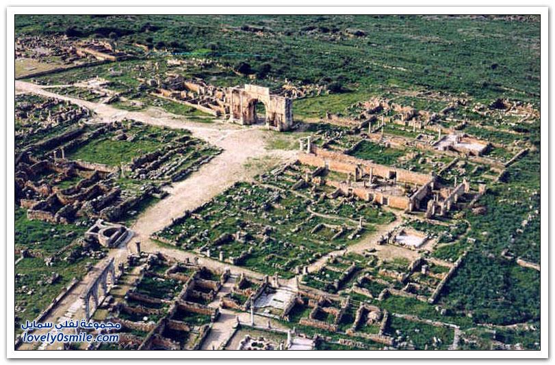 وليلي عبق التاريخ الروماني بعاصمة المغرب القديم