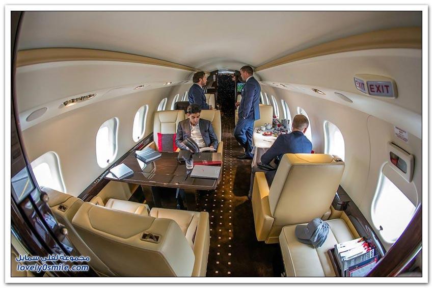 طائرات رجال الأعمال والمشاهير