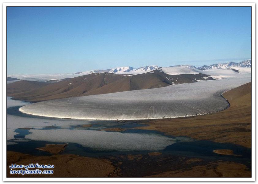 تعرّف على نهر قدم الفيل الجليدي