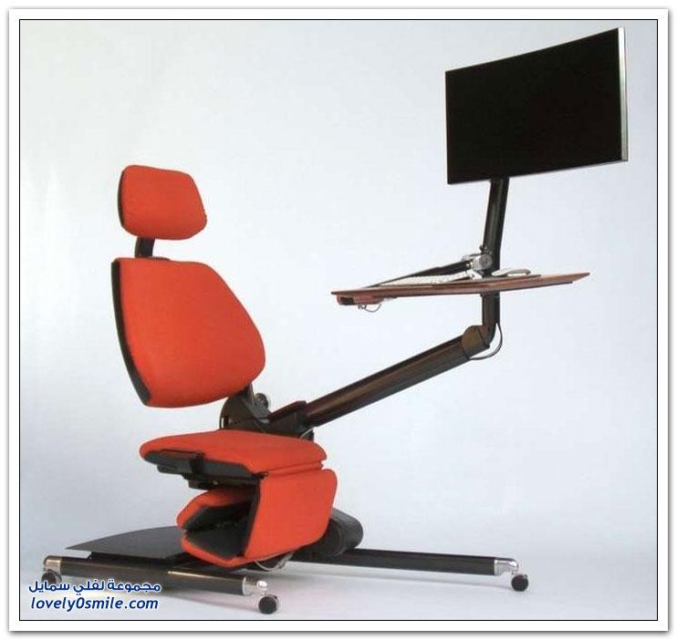 كرسي مريح أكثر لمستخدمي أجهزة الكمبيوتر