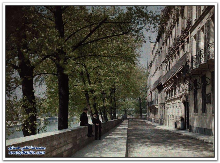 صور لمدينة باريس عام 1923م