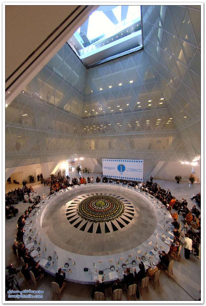 قصر السلام والمصالحة في مدينة أستانا, كازاخستان