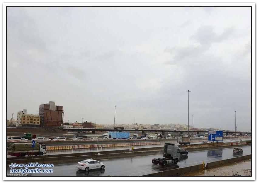 آثار أمطار جدة شهر صفر 1437هـ